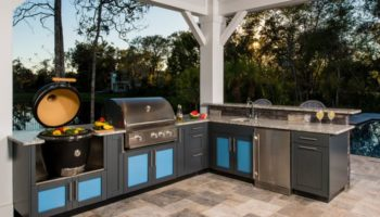 Outdoor Kitchen Installation in Clear Lake